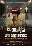 """Filmas """"4.maija Republika"""" plakāts"""